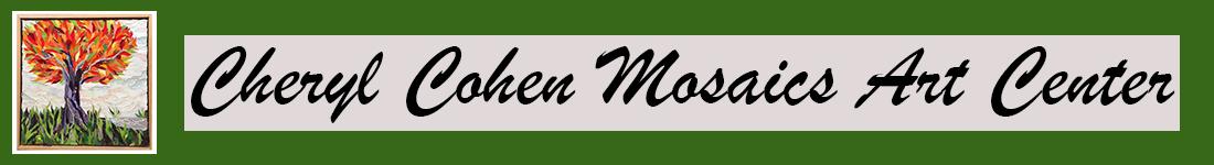 Cheryl Cohen Mosaics Logo