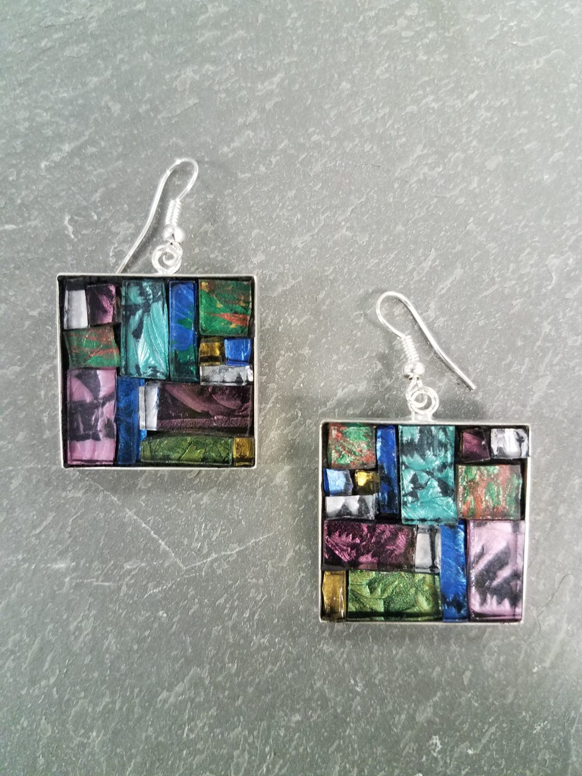 mosaic jewelry class multi-color