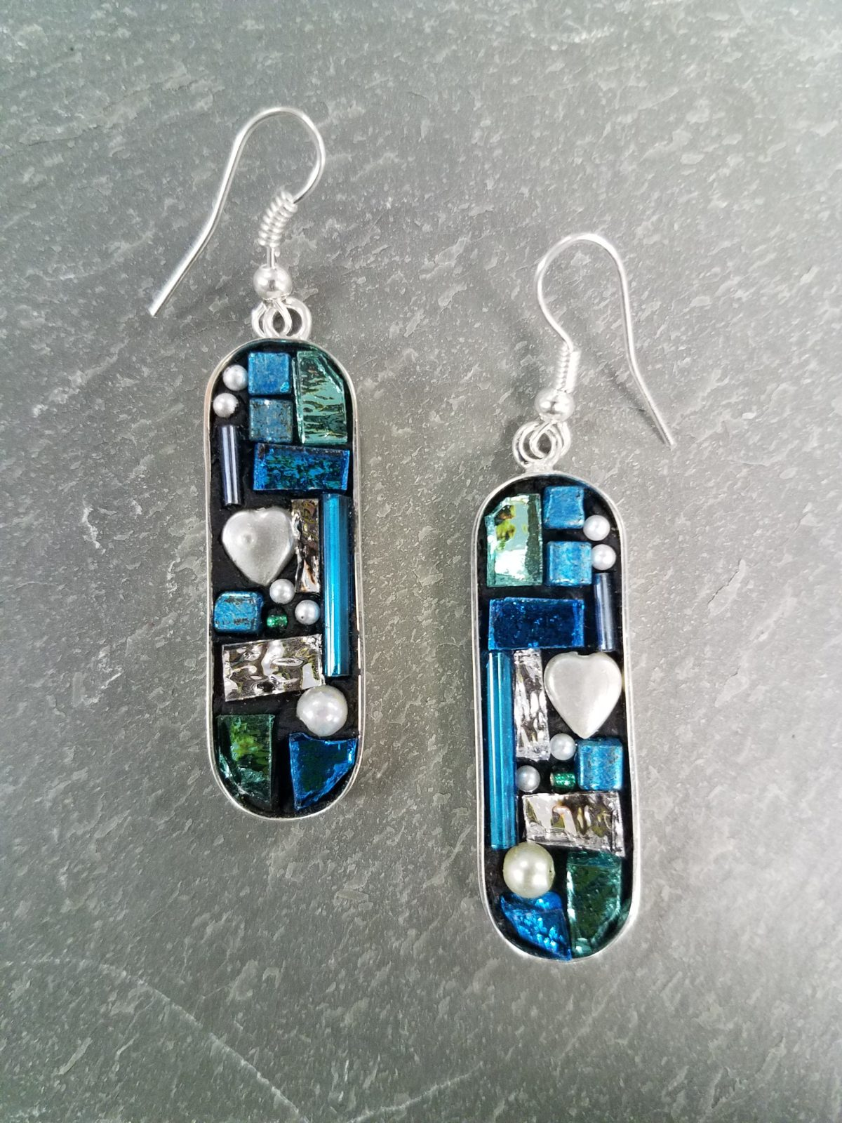 mosaic sterling earrings class