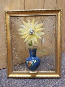 resin flower vase art class