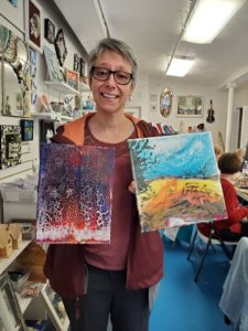color resin adult class